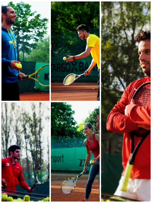 Collage Tenniscamp